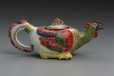 Teapot  German, about 1734  Made at Meissen Manufactory, Germany  Modeled by Johann Joachim Kändler, German, 1706–1775