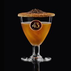 If you like brandy you'll love the Brandy 43, a sweet mixture of caramel, chocolate and Licor 43. It's one of our most popular serves in the Netherlands.