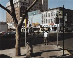 Stephen Shore - El Paso Street, El Paso, Texas, July 5, 1975