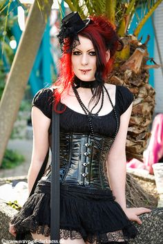 , gothic fashion ( cute but needs to be longer for my liking.)