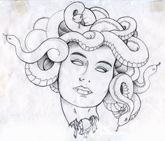 suddenly i like the idea of a medusa tattoo