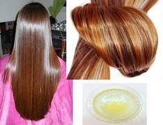 Queratina caseira/Repara seu cabelo em 1 dia
