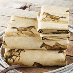 Check out Lone Star Western Decor now and examine our collection of Western bedding, such as this Full Size Wild Horses Sheet Set! Equestrian Decor, Western Decor, Western Art, Cute Horses, Horse Love, Western Bedding Sets, Cowgirl Bedroom, Cowboy Accessories, Horse Bedding