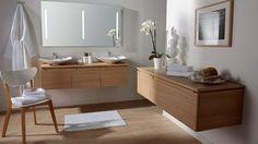 la salle de bains se fait zen