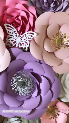 large paper flowers Dress up your walls with beautiful paper flower arrangements designed just for you! Made by hand using premium designer card stock paper, each arrangement is mad Paper Flower Arrangements, Flower Arrangement Designs, Paper Flower Decor, Large Paper Flowers, Paper Flower Backdrop, Flower Wall Decor, Paper Decorations, Flower Crafts, Diy Flowers