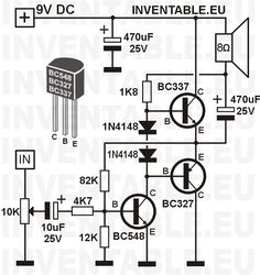 Electronic Circuit DC Motor Driver using H-Bridge MOSFET