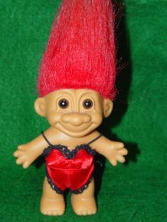 Troll-Doll-4-1-2-Russ-Girl-in-Red-Nightie-Negligee