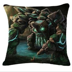 Cheap funda cojin, Buy Quality throw pillow cases directly from China pillows case pillow Suppliers: Throw Pillow Case Christmas Linen Dota 2 Game Decorative Pillows For Sofa Home Decor Cushion Cover Funda Cojin New Dota 2 Wallpapers Hd, Defense Of The Ancients, Dota 2 Game, Wallpaper Free Download, Throw Pillow Cases, World Of Warcraft, Cool Wallpaper, Home Textile, Game Art