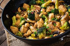 Nutrisystem provides a delicious and simple recipe for Chicken and Broccoli Stir-Fry.