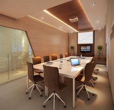 small room design ideas for teenagers Corporate Office Design, Office Space Design, Modern Office Design, Office Furniture Design, Small Room Design, Workspace Design, Office Interior Design, Office Interiors, Office Ceiling Design