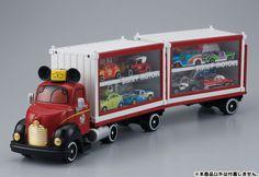 TAKARA TOMY【米奇展示貨櫃車】DISNEY MOTORS Dream Carry + Container   玩具人Toy People News