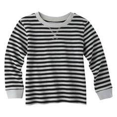 Circo® Infant Toddler Boys' Long-Sleeve Stripe Thermal Tee