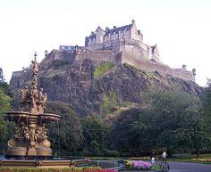 Castelo de Edimburgo, Escócia.