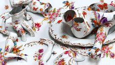 Porcelain Tatoos by Kim Joon