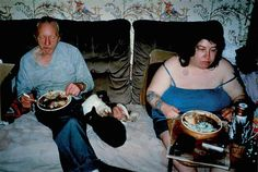 Untitled (RAL Richard Billingham, Fuji long-life color print on aluminium. Billingham documents his working class British family through a series of moving photographs. A Level Photography, Street Photography, Portrait Photography, Reportage Photography, Photography Topics, Narrative Photography, Fashion Photography, Photography Lighting, Photography Camera