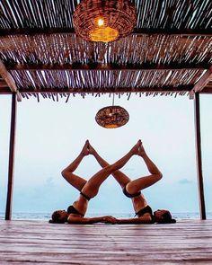 yoga poses for two people - yoga poses ; yoga poses for beginners ; yoga poses for two people ; yoga poses for flexibility ; yoga poses for beginners flexibility ; yoga poses for back pain ; yoga poses for beginners easy Two People Yoga Poses, Couples Yoga Poses, Acro Yoga Poses, Partner Yoga Poses, Yoga Poses For Two, Yoga Poses For Beginners, Yoga Handstand, Learn Yoga, How To Do Yoga