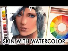 【WATERCOLOR PORTRAIT】 With Her Strength - YouTube