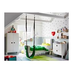 IKEA - GUNGGUNG, Swing, , Suitable for indoor and outdoor use.Swinging develops the sense of balance and body perception. It also brings a feeling of well-being and relaxation.