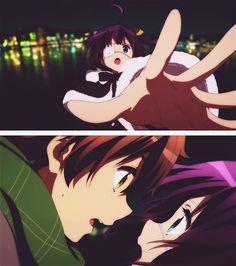 『 Love, Chunibyo & Other Delusions 中二病でも恋がしたい! Rikka And Yuuta, Manga Anime, Anime Art, Tamako Love Story, Kyoto Animation, Comedy Anime, Anime Angel, Animes Wallpapers, Me Me Me Anime