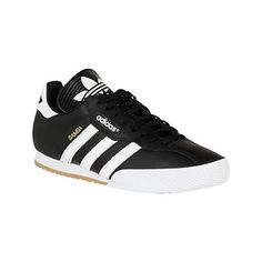 super popular 585f6 00716 adidas Mens Samba Super Trainers Lace Up Training Leather Upper Sport Shoes