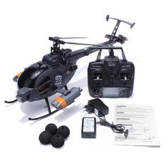 FX070C 2.4G 4CH 6-Axis Gyro Flybarless MD500 Scale RC Helicopter – Littles Toys Benz, Nitro Boats, Volkswagen, Software, Uav Drone, Drones, Rc Trucks, Gifted Kids, Rc Helicopter