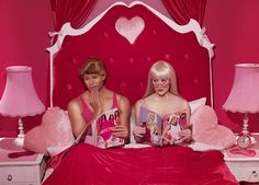 Dreamhouse or house of nightmares? Photographer Dina Goldstein created a photo series called In the Dollhouse to show the less-than-perfect reality of Barbie and Ken. The photos are sad, funny, and a bit depressing.