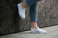 "adidas Court Vantage Slip On ""White"" (S75166) - http://goo.gl/8Qgl5d"
