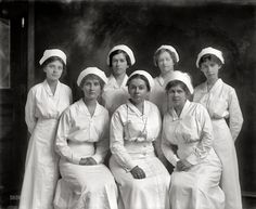 Nurse's Group Photo ca. 1920