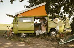 Campervan, Wohnmobil, Natur