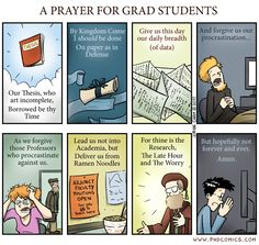 PhD prayer - this is brillant. I will post to my Facebook Friends & Family on a holy day.