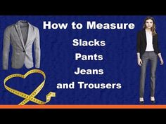 Watch now!⚡️  How to Measure Slacks, Pants, Jeans, and Trousers https://youtube.com/watch?v=cmPay9LJE60