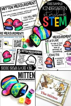 The Mitten by Jan Brett - Kindergarten Storybook STEM provides teachers with weekly all-in-one units to to supplement favorite Kindergarten read alouds! Each unit includes a comprehension bookmark, ELA lesson, enrichment lesson, vocabulary activities, science and math video connections, and simple STEM Challenge. Elementary STEM Activities