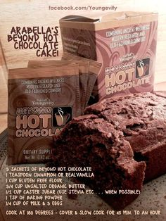Healthy Chocolate cake high in antioxidents! #healthylifestyle #chocolatefriday #ygyclub