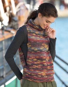 Easy Crochet, Knit Crochet, Crochet Hats, Vest Outfits For Women, Knit Vest Pattern, Poncho, Winter Fashion Outfits, Crochet Fashion, Crochet Clothes