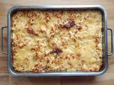 reCocinero: lasaña de atún y mozzarella Salsa Bechamel, Queso Mozzarella, Lasagna, Ethnic Recipes, Blog, Cooking, Blogging, Lasagne