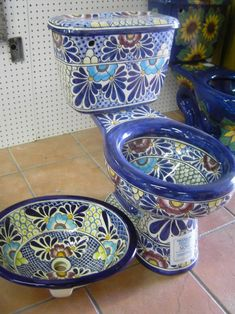 metal art sinks | ... complete set for your bathroom,12 pieces including the talavera sink