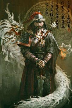 Genghis Khan_FangWanglin
