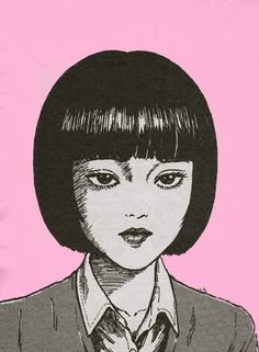 Art Manga, Manga Drawing, Anime Art, Art Inspo, Kunst Inspo, Art Bizarre, Weird Art, Junji Ito, Japanese Horror