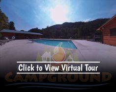 Virtual tour of our pool at the Pigeon River Campground