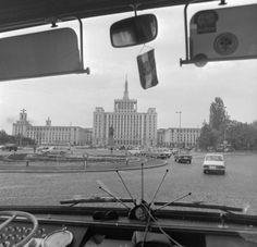 Cum arata Bucurestiul anului 1977 prin parbrizul unui autocar - FOTO | La zi pe Metropotam