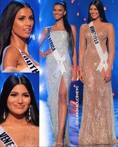 """─ Fashi 🍒┊22.5k on Instagram: """"𝗔𝗕𝗥𝗢 𝗗𝗘𝗕𝗔𝗧𝗘 💎 Tamaryn & Sthefany las dos morenatzas del Miss Universo 2018. Si el TOP 2✨ hubiese sido conformado por este dúo espectacular…"""""""