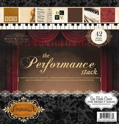 Die Cuts with a View - The Performance Collection - Foil Paper Stack - 12 x 12 at Scrapbook.com $19.99