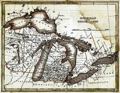 1801_DC_US_Old Michigan Map