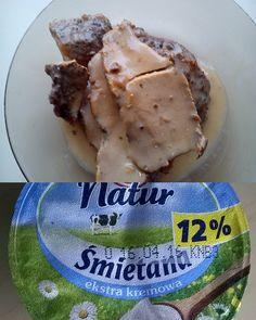 Łopatka pieczona w sosie zabielanym Śmietana Zott Natur 12%.Śmietana doskonale znajduje miejsce w sosie pieczeniowym.Uwydatnia smak i nadaje wspanialego koloru.#zottnaturalnie #trnd (bubcia1999)