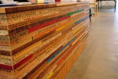 rulers to decorate the store counter