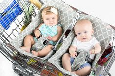 Pre-order your Shopping Cart Hammock™ making life easier with twins
