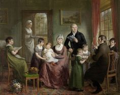 Ritratto della Famiglia di Adriaan Bonebakker 1809