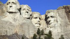 Carved into the granite face of Mount Rushmore near Keystone, SD, this national memorial commemorates America's 4 greatest presidents. The idea came from a South Dakota historian who wanted to create a memorial that would attract people from all over the country. Today, nearly 3 million people visit each year.