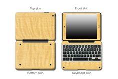 Curly Maple Wood#ClamCasePro #Pro #iPad #iPadMini #Apple #Tablet #Tablets #Computers #Keyboard #Gadget #Gadgets #Electronics #Electronic #Shield #Shields #Protector #Protectors #Decals #Skin #Skins #Wrap #Wraps #Vinyl #3M #Wood #Mahogany #Ebony #Kyrobe #Persimmon #Walnut