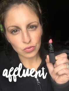 Younique Affluent Creamy Lipstick  Allie Pillow, Exclusive Black Status Presenter Order @ www.confidenceconsultant.net